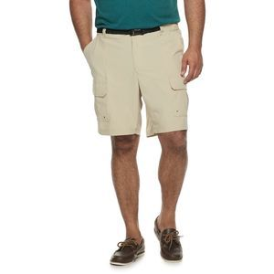 Big & Tall Croft & Barrow 46 Belted Outdoor Shorts